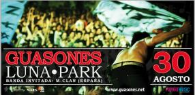 Guasones en el Luna Park 30/08/2013