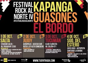 Festival Rock al Norte IV