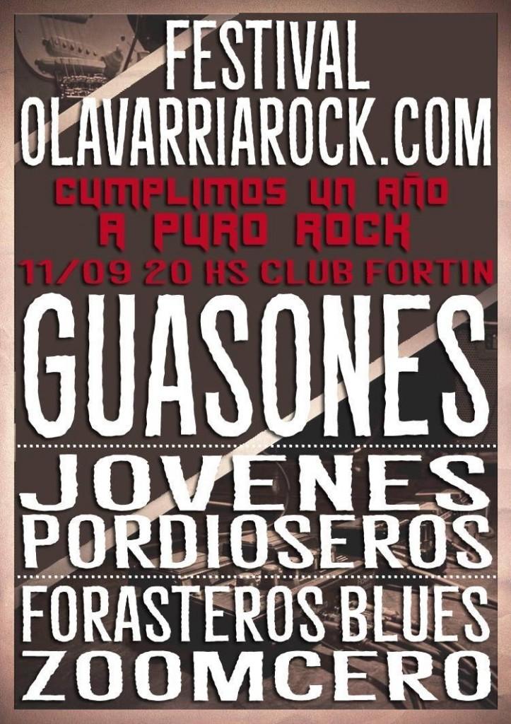 Guasones en Olavarria Rock