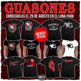 Merch guasones luna park