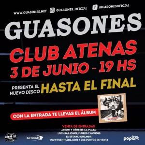 Guasones en el Club Atenas