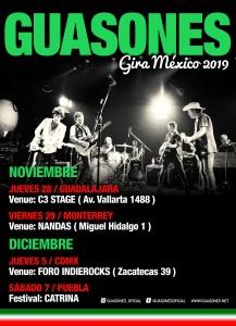 Guasones Gira Mexico 2019